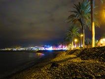 Playa De Las Américas Tenerife Fotos de archivo libres de regalías