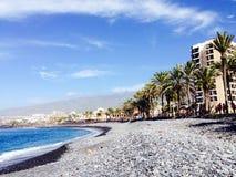 Playa de Las Amériques Images libres de droits