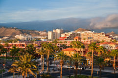 Playa de las Americas. Royalty Free Stock Image