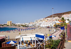 Playa De Las Americas Tenerife Immagine Stock Libera da Diritti