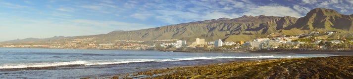 Playa de Las Americas, Tenerife, Canary Islands, Spain Royalty Free Stock Photos