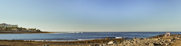 Playa de Las Americas, Tenerife, Canary Islands, Spain Stock Images
