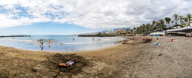 Playa de las Americas in Tenerife Stock Photos