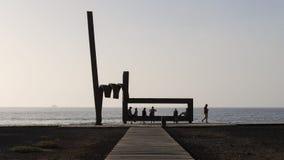 Playa DE Las Amerika, Tenerife, Spanje - November 12, 2017 royalty-vrije stock afbeelding
