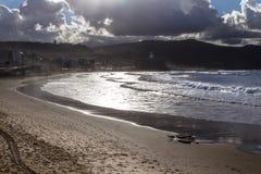 Playa DE Las Canteras, Las Palmas de Gran Canaria Royalty-vrije Stock Afbeelding