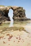 Playa de Las Catedrales fotografía de archivo libre de regalías