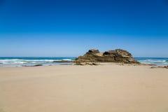 Playa de Las Catedrales Fotografia Stock Libera da Diritti