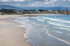 Playa de las Catedrales - Beautiful beach in the north of Spain. Stock Photo