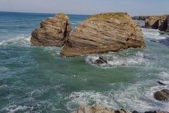 Playa de las catedrales Lugo España europa imágenes de archivo libres de regalías