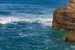 Playa de las catedrales Lugo España europa imagen de archivo