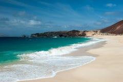 Playa de las conchas Royalty Free Stock Photos