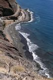 Playa de Las Gaviotas, Тенерифе стоковые изображения