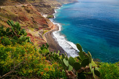 Playa de las Gaviotas Royalty Free Stock Photography