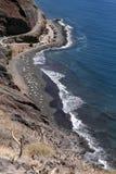 Playa de Las Gaviotas, Tenerife στοκ εικόνες