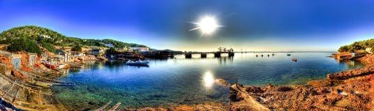 Playa de las Salinas - Ibiza imagens de stock