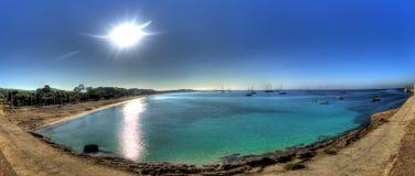 Playa de las Salinas - Ibiza Stock Image