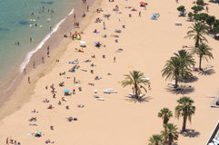 Playa de Las Teresitas, Tenerife Royalty Free Stock Photo