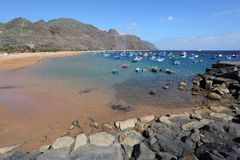 Playa de las Teresitas, Tenerife Royalty Free Stock Photos