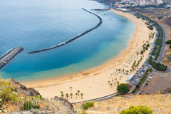 Playa de las Teresitas,Tenerife, Canary islands, Sp Stock Photo