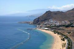 Playa de Las Teresitas Tenerife, España Imagenes de archivo