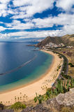Playa de Las Teresitas, Tenerife island Stock Photos