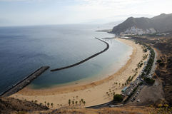 Playa de Las Teresitas, Tenerife Spain Royalty Free Stock Photo
