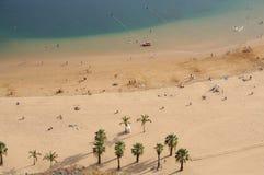 Playa de Las Teresitas, Tenerife Spain Royalty Free Stock Images
