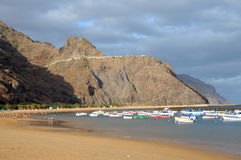 Playa de Las Teresitas, Tenerife Spain Royalty Free Stock Photography