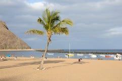 Playa de Las Teresitas, Tenerife Spain Royalty Free Stock Photography