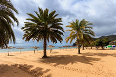 Playa de Las Teresitas Tenerife Stock Photography