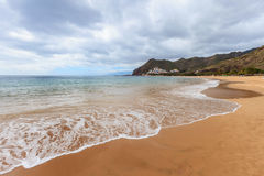 Playa de Las Teresitas Tenerife Royalty Free Stock Photography