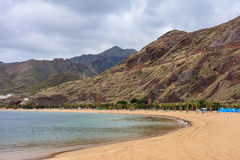 Playa de Las Teresitas Tenerife Royalty Free Stock Images