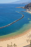 Playa De Las Teresitas Royalty Free Stock Image
