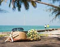 Playa de las vacaciones Fotografía de archivo
