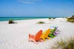 Playa de las vacaciones de verano fotografía de archivo