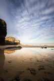 Playa de les catedrales Stock Photography