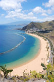 Playa de les teresitas. At Santa-Cruz, Canary Islands Stock Image