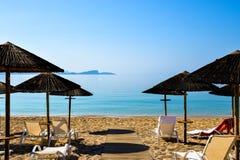Playa de Lichnos Imagen de archivo