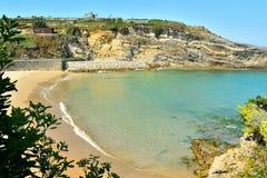Playa de Llanes Imagenes de archivo
