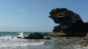 Playa de Llangrannog, Ceredigion, País de Gales fotos de archivo
