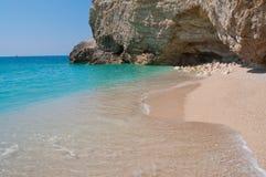 Playa de Loneley Imagenes de archivo