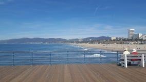 Playa de Los Ángeles Imagen de archivo libre de regalías