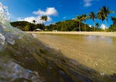 Playa de los Bluebeards, St Thomas Foto de archivo libre de regalías