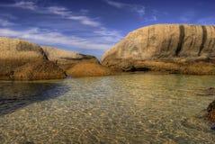Playa de los cantos rodados Imagenes de archivo