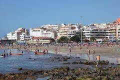 Playa de Los Cristianos, Tenerife Royalty Free Stock Image