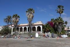 Playa de los Cristianos, Tenerife Stock Photos