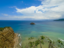 Playa de los Frailes в эквадоре Стоковое фото RF