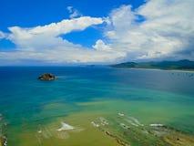 Playa de los Frailes nell'Ecuador Immagine Stock