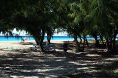 Playa de los gobernadores Imagen de archivo libre de regalías