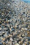 Playa de los guijarros Foto de archivo libre de regalías